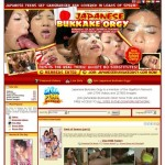 Japanese Bukkake Orgy just dumped pass