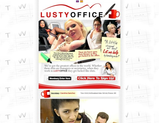 Lustyoffice working passes