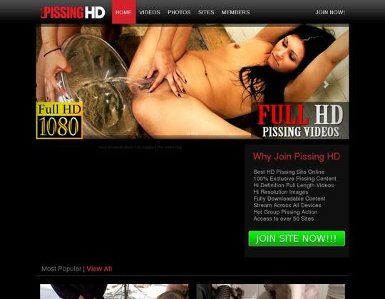 pissinghd.com tested login