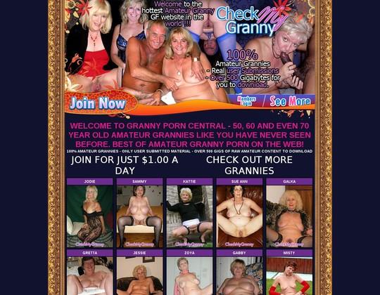 Checkmygranny free login