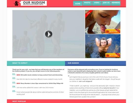 Ournudism access login