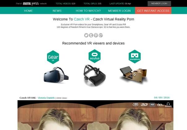 czechvr.com access passes