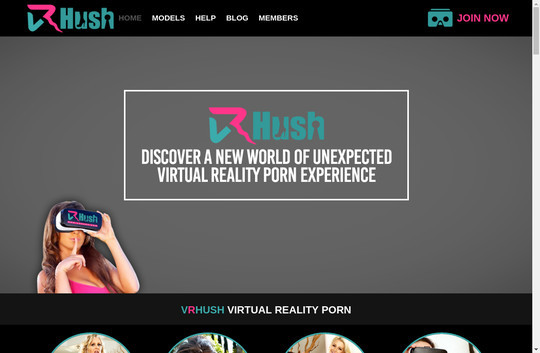 Vr Hush free accounts