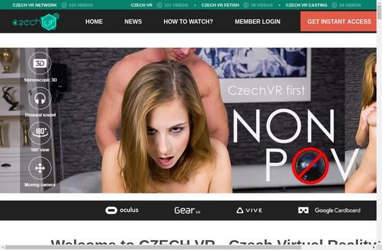 Czechvr working login