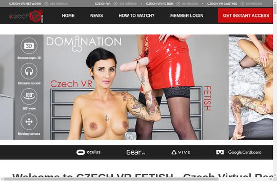 czechvrfetish.com working accounts