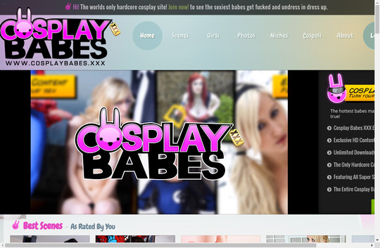 Cosplay Babes access accounts