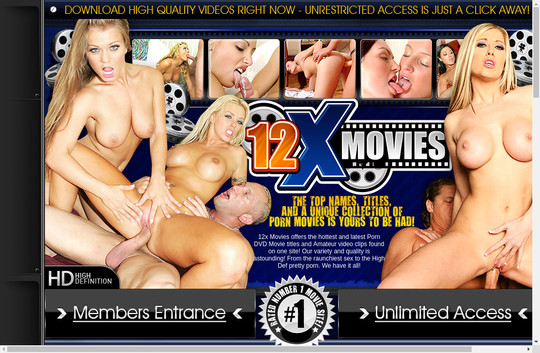12x Movies fresh dump pass