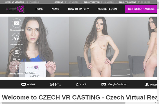 Czech Vr Casting just dumped pass