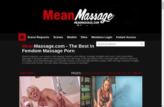 Meanmassage premium pass
