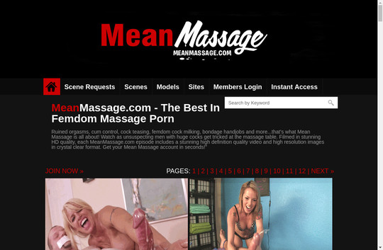 Meanmassage fresh dump accounts