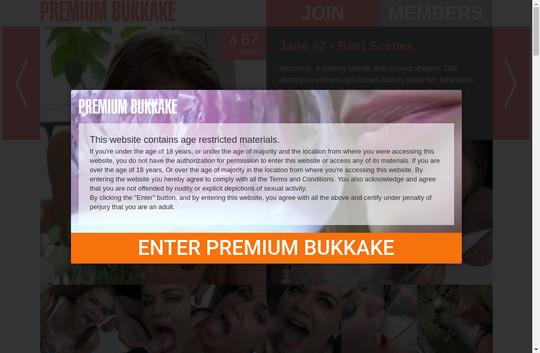 Premium Bukkake working passes