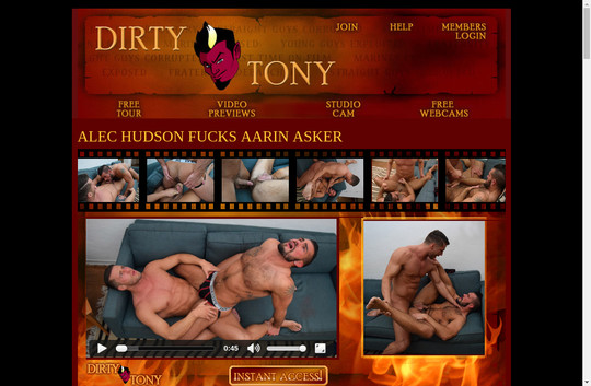 dirtytony.com latest accounts