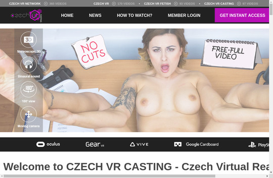 czechvrcasting.com free accounts