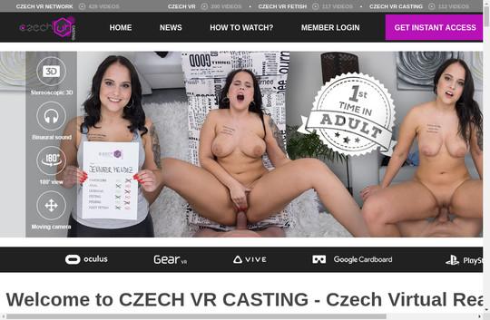 Czech Vr Casting premium pass