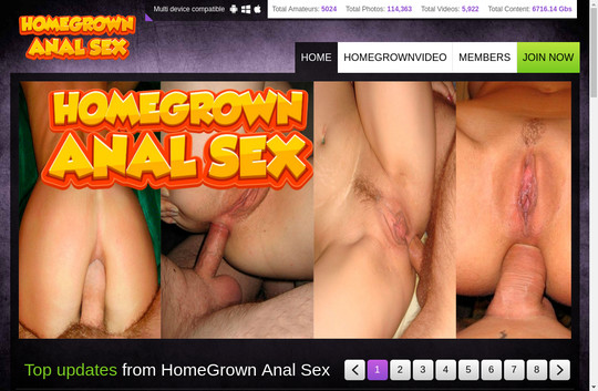 Homegrown Anal Sex tested passwords