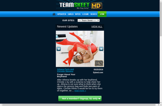 m.teamskeet.com new accounts