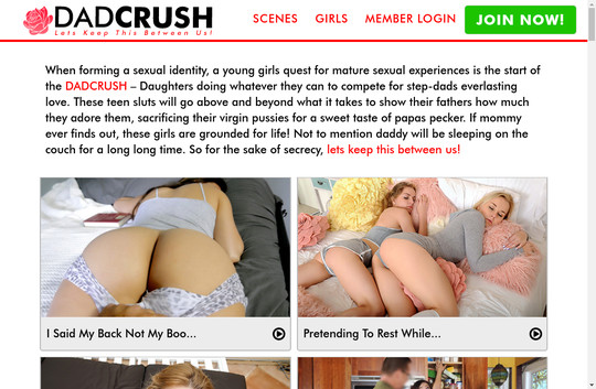 dadcrush.com access login